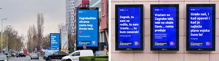 Go2Digital Poruke za Zagreb